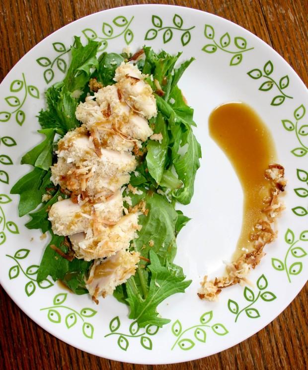 Amie's Coconut Chicken Salad with Honey Mustard Vinaigrette